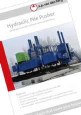 Hydraulic Pile Pusher