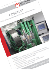 COSON-ST hands-free CPT machine